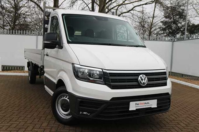 Volkswagen Crafter CR35 Single cab Dropside ETG LWB 177 PS 2.0 TDI 6sp Manual FWD